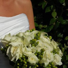 Example wedding bouquet