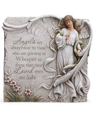 Angels Are Near Stone Flower Arrangement