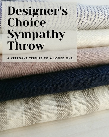 Designer's Choice Sympathy Throw Gifts