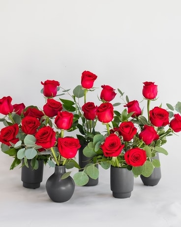 Room Full of Roses- RED Flower Arrangement