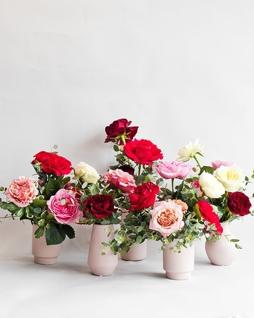 Room Full of Roses- Garden Mix Flower Arrangement