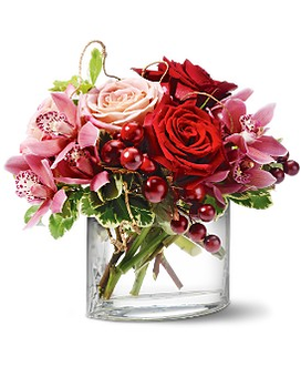 Teleflora's Vineyard Blush Flower Arrangement