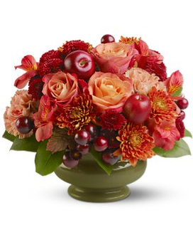 Autumn Orchard Flower Arrangement