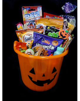 Trick or Treat Sweet Pumpkin Gift Basket