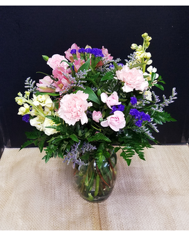pastel mix Flower Arrangement