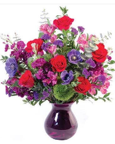 Colorful Affection Flower Arrangement