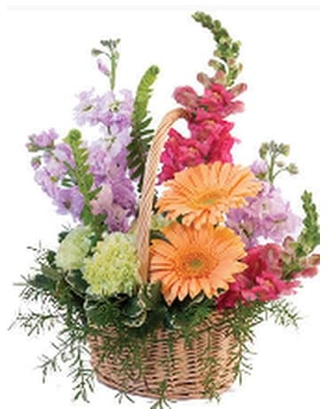 Pleasent Pastels Flower Arrangement