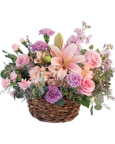 Pretty with Pinks Flower Arrangement