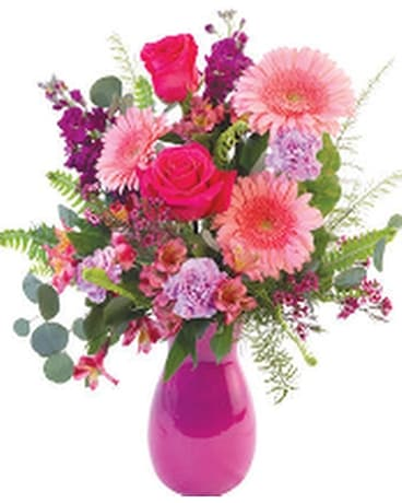 Lovely Pinks Flower Arrangement