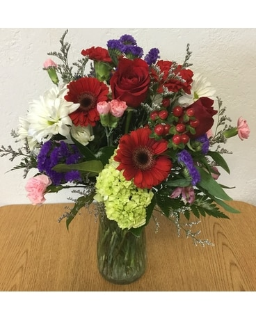 Blooms of Love Flower Arrangement