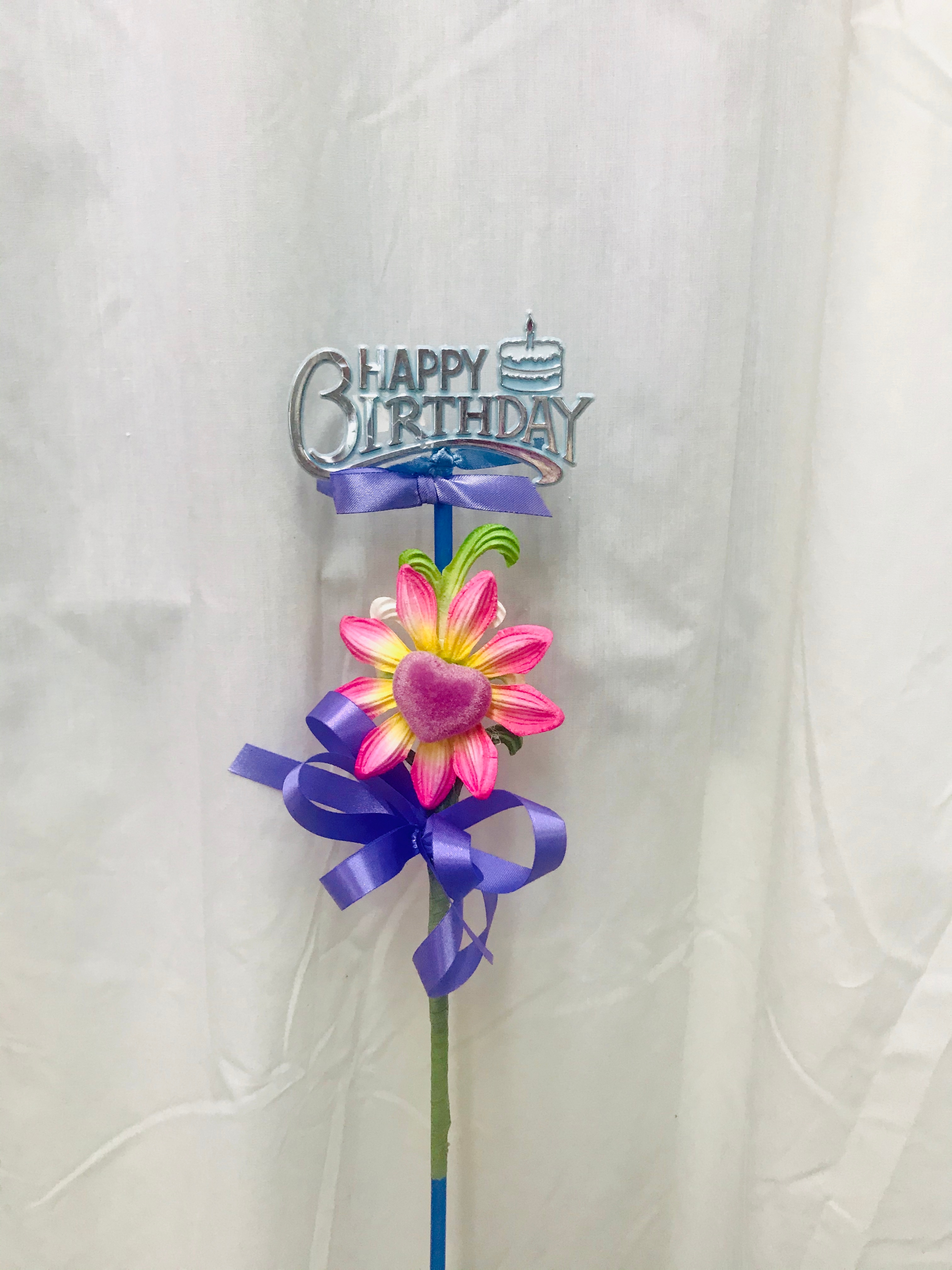 Keepsake Pick - Birthday Flower