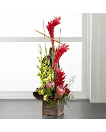 Exotic Paradise Flower Arrangement