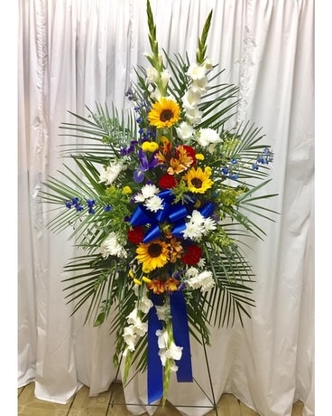 Celebration of Life - Stand Easle Flower Arrangement