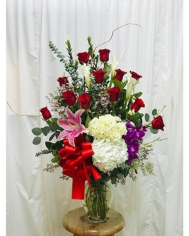 First Love Bouquet Flower Arrangement