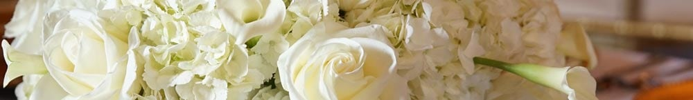 George K. Walker Wedding Flowers Banner