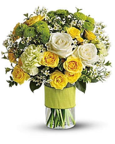 Your Sweet Smile by Teleflora Flower Arrangement