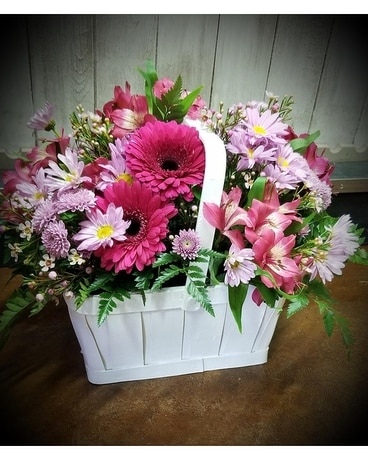 A Mother's Love Basket Arrangement