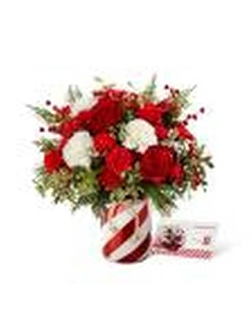 HOLIDAY WISHES Flower Arrangement