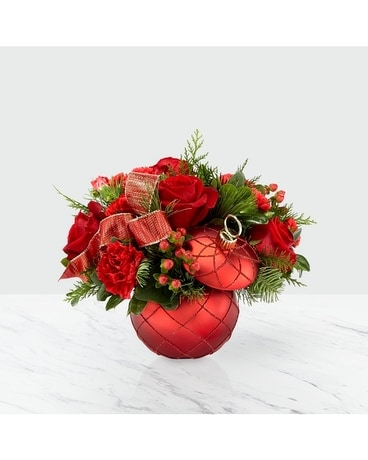 Christmas Magic Deluxe Flower Arrangement