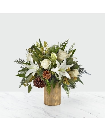 Joyous Greetings Deluxe Flower Arrangement