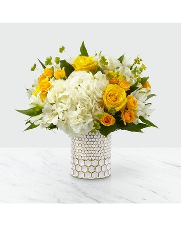 Bees Knees Bouquet - Deluxe Flower Arrangement
