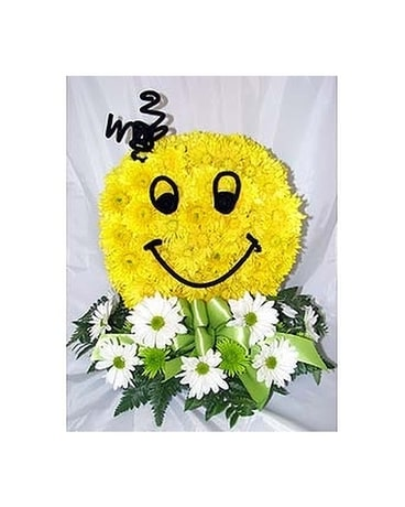 Smiley Face Arrangement Custom product