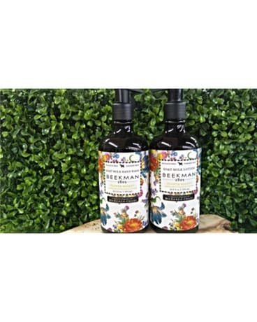 MacKENZiE-CHiLDS hand wash and goat milk lotion
