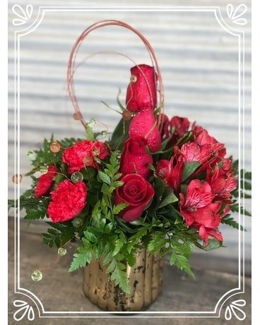 Passionately Yours Flower Arrangement