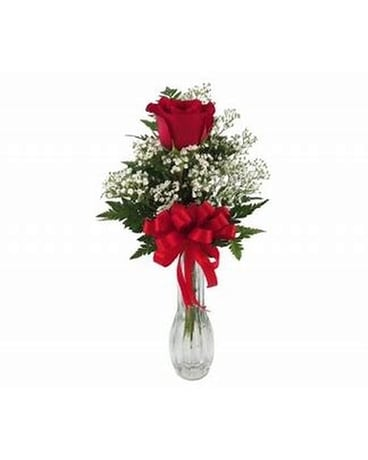 One Rose Flower Arrangement