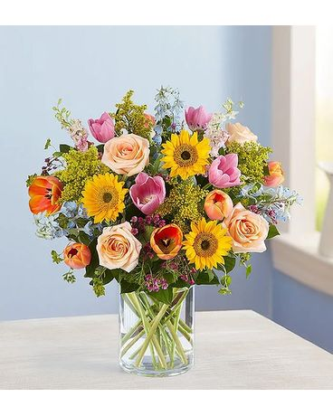 Spring Sensations Flower Arrangement