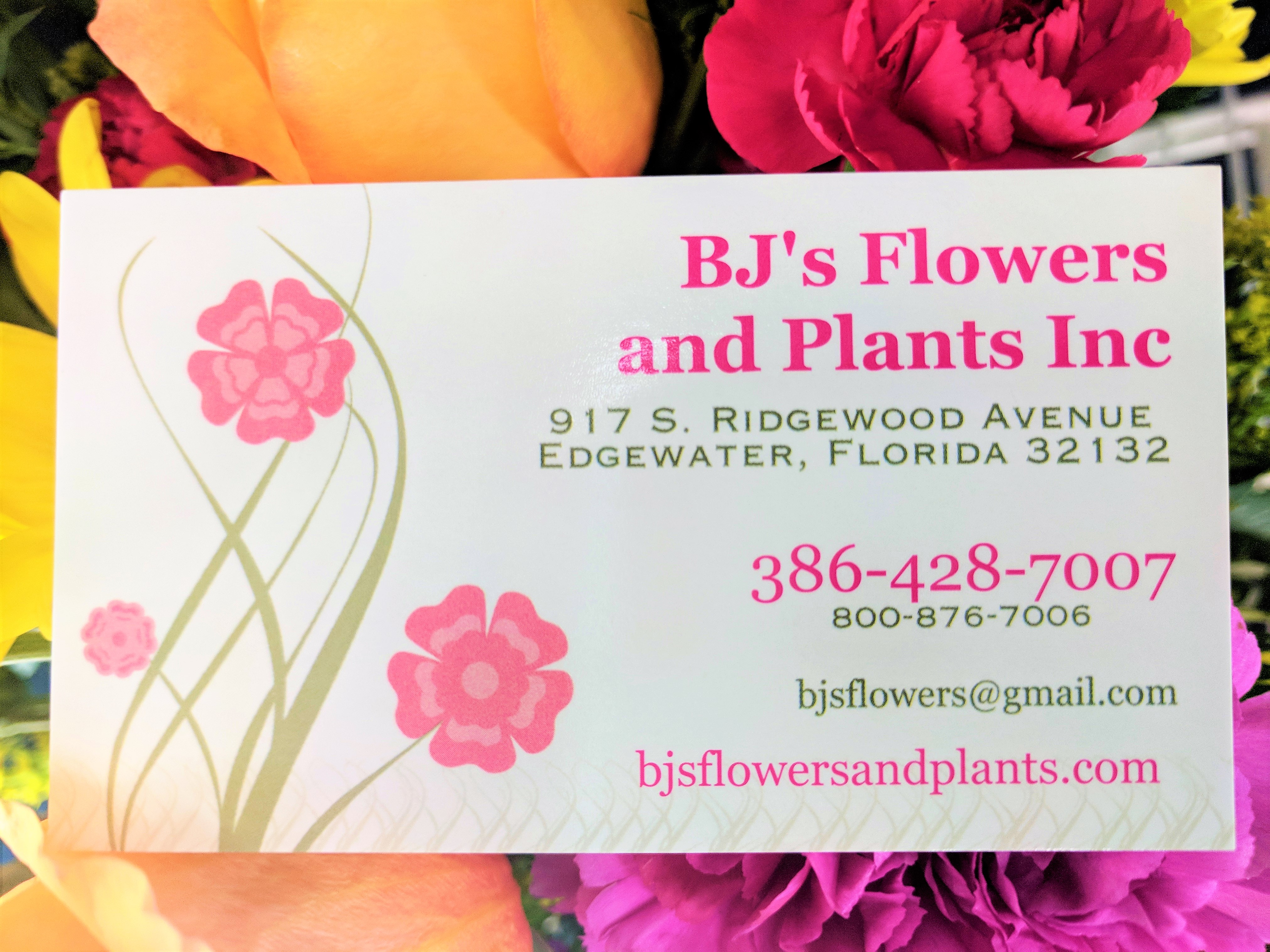 Edgewater Florist Flower Delivery By Bjs Flowers Plants Inc