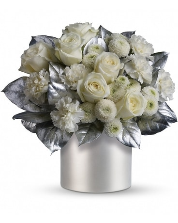 Teleflora's Elegant Evening Flower Arrangement
