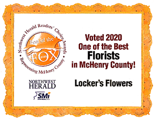 Voted One of the Best Florists in McHenry in 2020!