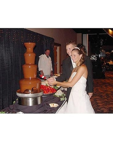 Chocolate Fountain Wedding Receptions