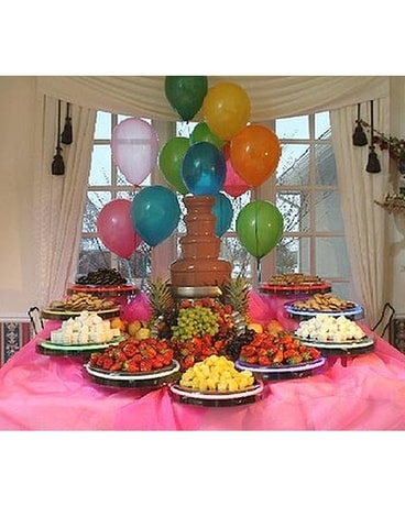 Chocolate Fountain Birthday Parties
