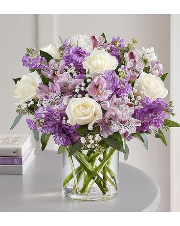 Lovely Lavender Medley by Agnew Floirst Flower Arrangement