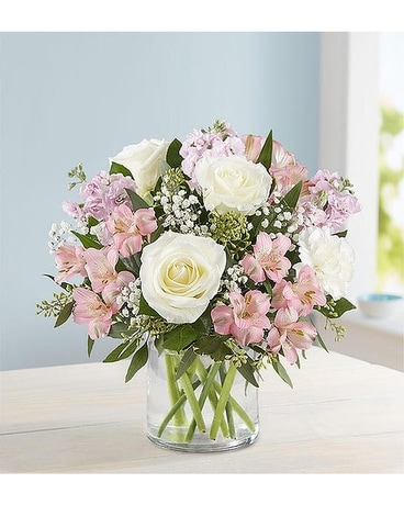 Elegant Blush Bouquet Flower Arrangement