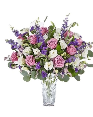 Marquis by Waterford Lavender Dreams Bouquet Flower Arrangement