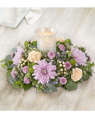 Garden Party Centerpiece Flower Arrangement
