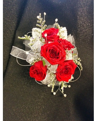 Roses and Sparkles Corsage