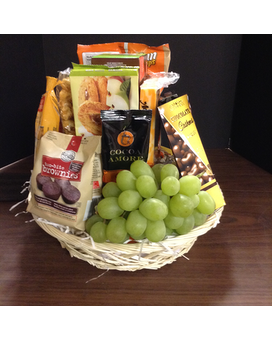 Fruit & Goodie Basket Gift Basket