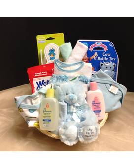 It's a Boy Basket Gift Basket