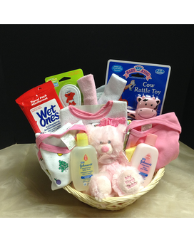 It's a Girl Basket Gift Basket