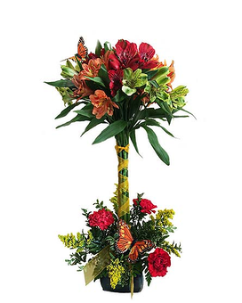 Butterfly Haven Flower Arrangement