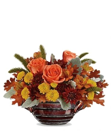 Celebrate Fall Flower Arrangement