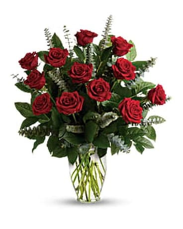 Eternal Love - Click for Triple & 1/2 Dzn Prices Flower Arrangement