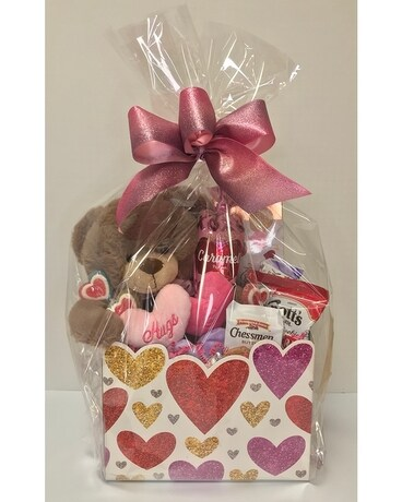 Large Valentine Snack Box with Bear Custom product