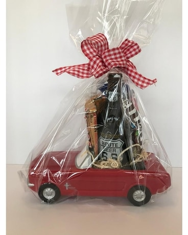 Mustang Snacks Gift Basket