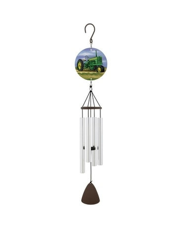 Green Tractor Windchime Gifts