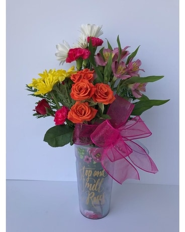 Mom Inspiration Vase Flower Arrangement